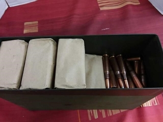 7.62 x 54 Russian, Lot of 282, With Case