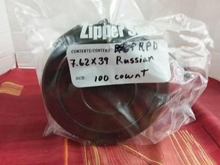 RPD 7.62 x 39 Russian, Lot of 100
