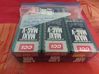 CCI 22 Holl9w Point, Lot of 200
