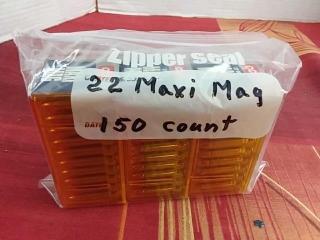 CCI 22 Maxi Mag, Lot of 150