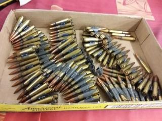 8 mm Mauser Belt, Lot of 140
