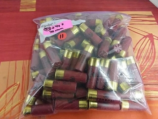 Federal 2.75 x 70mm Shot Gun Shells, lot of 84