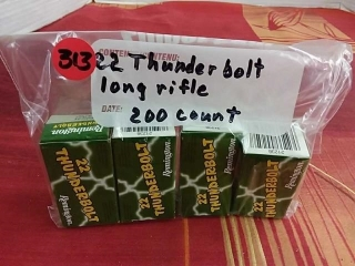 22 Thunderbolt, LR, Lot of 200