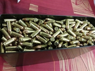 9mm, Lot of 830, With Case