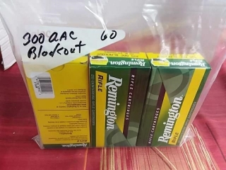 300 AAC Blackout, Lot of 60