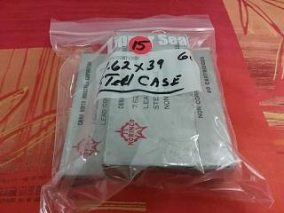 7.62 x 39 Steel Case, Lot of 60
