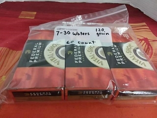 Waters 7-30, Lot of 60