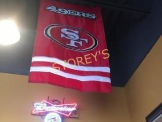 49ers Football Banner