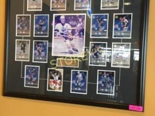 Wayne Gretzky HOF 1999 Framed Picture