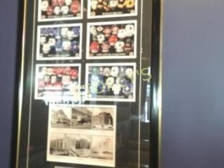 Evolution of the Jersey Framed Picture