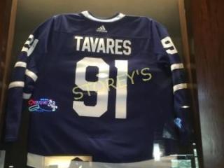 Framed Tavares Hockey Jersey   48 x 76