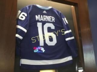 Framed Marner Hockey Jersey   48 x 76