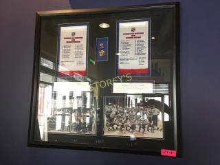 Framed Kitchener Rangers Memorial Cup Picture