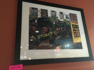 london Pub Picture   22 x 18
