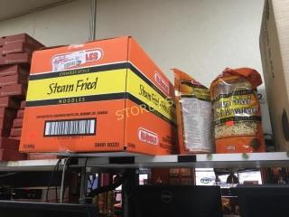 New Box of Steam Fried Noodles