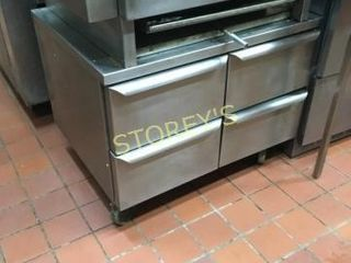 4 Drawer S S Mobile Equipment Stand