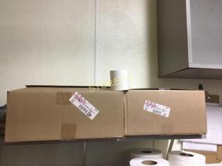 2 Boxes of Cash Register Tape