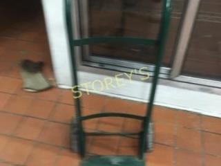 Green 2 Wheel Hand Cart