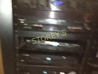 Toshiba DVD VCR   3  Next Boxes   Cisco Box