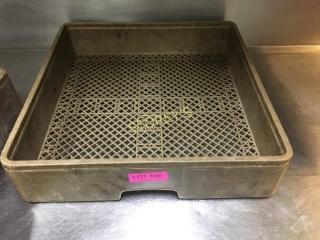 Flat Dishwasher Tray Rack
