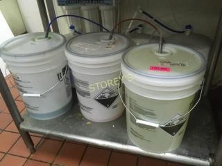 Full Jug of Sanitizer  Cleaners  Etc