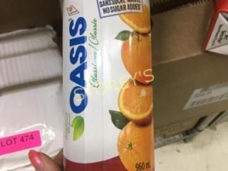 Case of Orange Juice