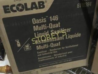 Box of Multi Quat Sanitizer