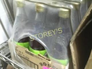 12 Bottles of lime Drink Flavor