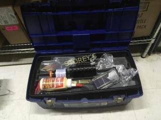 Blue Tool Box   Contents
