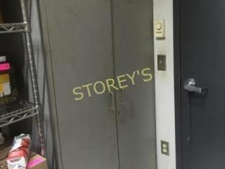 2 Door Storage Cabinet   36 x 18 x 72