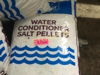 Bag of Water Conditioner Salt Pellets