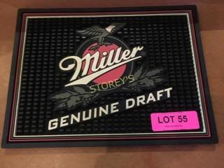 Miller Bar Mat   12 x 9