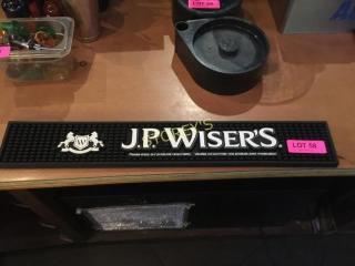 JP Wisers Bar Mat   23 x 4