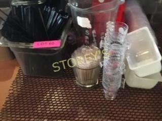 Stir Sticks  Ice Cube Trays  Etc
