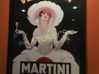 Vermouth Martini Picture   27 x 39
