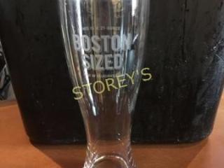 14 Boston Sized Beer Glasses   23oz