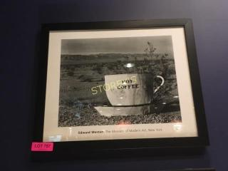 Hot Coffee Picture   22 x 18