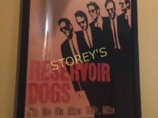 Reservoir Dogs Framed Poster   30 x 41