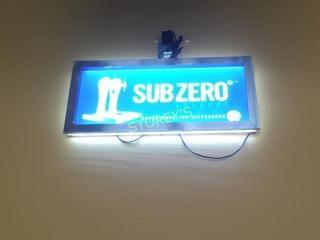 Illuminated BP Sub Zero Sign