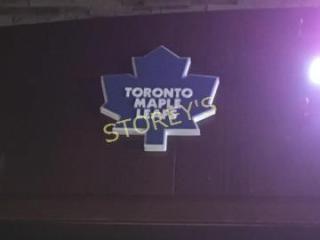 Toronto Maple leaf s Sign