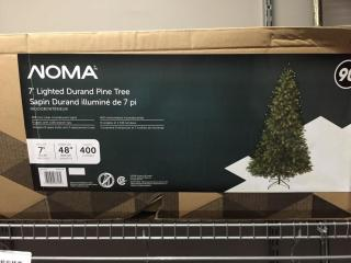 NOMA 7  lighted Christmas Tree in Box