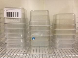 Polycarbonate Insert   1 6 Size x 4