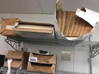 lOT  Paper Bags   liners