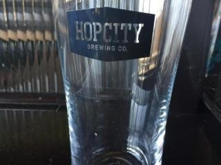 11 Hopcity Brewing Beer Glasses