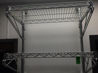 2 Shelf Metro Wall Shelf