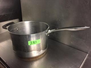 Browne Thermalloy S S Sauce Pot   7 6 Qt