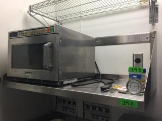 S S Microwave Shelf   3  W x 22  D