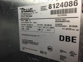TRUE 2 Door Back Bar   Model  TBB 2