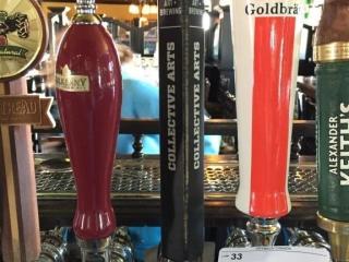 Collective Arts Beer Tap Handle