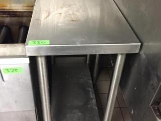 S S Spacer Table   15  x 30  w  Backsplash